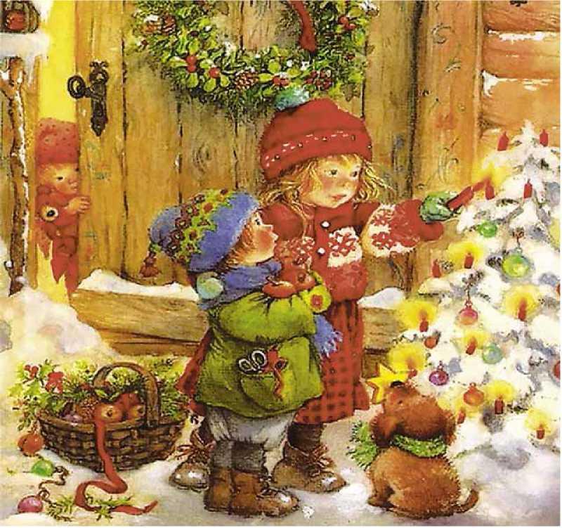 Рождественские картинки с младенцем закону старые